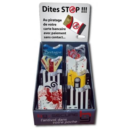 Box de protèges cartes RFID...